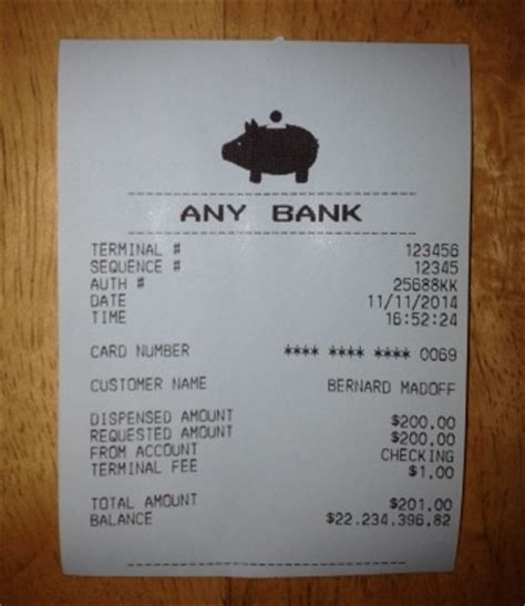 atm receipt template how to up any in 5 easy steps the ceo sam way