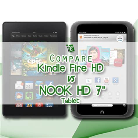 best tablet compare compare kindle hd vs nook hd 7 quot tablet best ereader