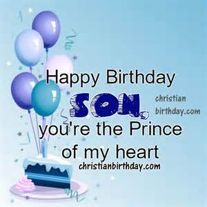 Happy birthday wishes to my son quotes and image christian birthday