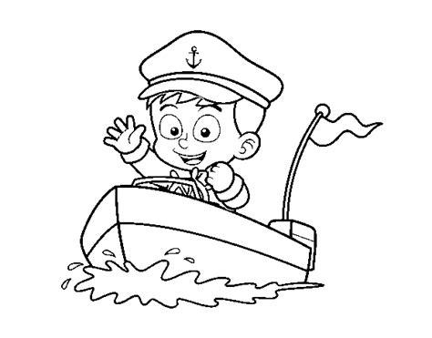 capitanes de barcos para colorear dibujo de barco y capit 225 n para colorear dibujos net
