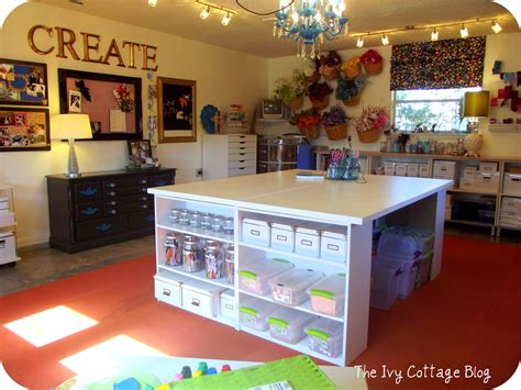 creating a craft room showing reader feature sugar bee crafts
