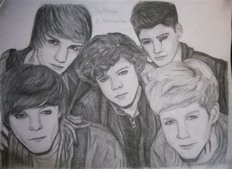 one direction painting one direction fanart one direction fan 19395844