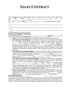 sales agreements templates sales contract template hashdoc