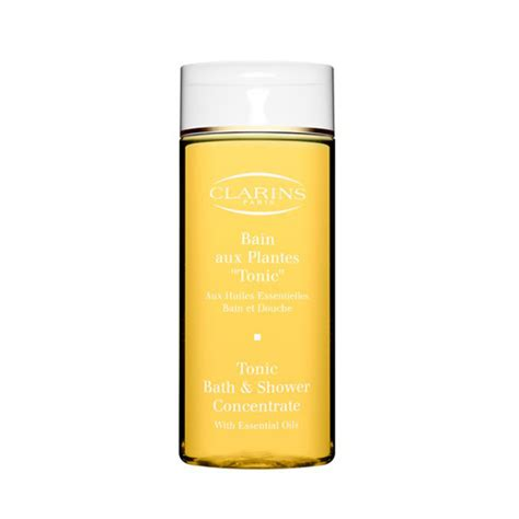 clarins bath and shower milk k 246 p clarins tonic bath shower concentrate 200ml