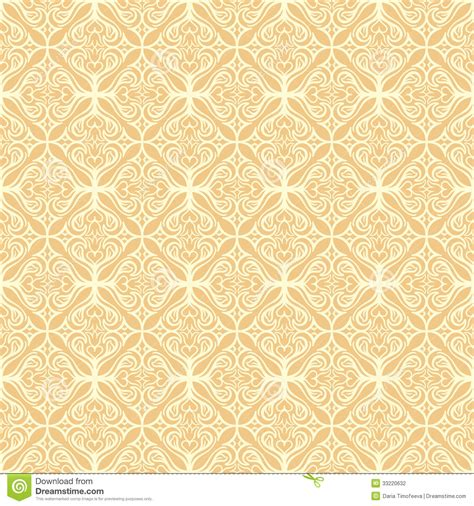 simple vintage pattern background seamless yellow background stock photography image 33220632
