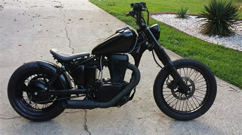 Suzuki Savage Bobber by Bobber Build Suzuki S40 Part 1