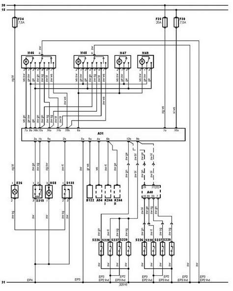 renault megane mk1 fuse box wiring diagram