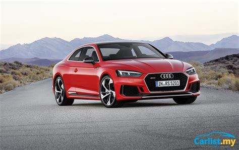 audi rs5 malaysia new 2018 audi rs5 launched 2 9 litre turbo 450hp