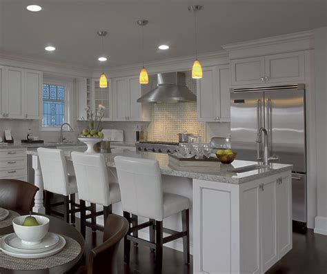 The Crafty Kitchen by Painted Kitchen Cabinets In Alabaster Finish Kitchen Craft