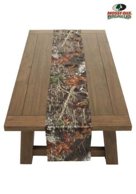 Camo Table Runners by 72 Quot Mossy Oak Camo Table Runner