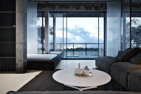 Stunning Black and White Interior Design by Igor Sirotov