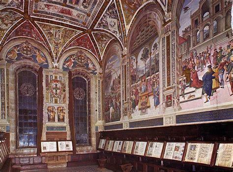 libreria piccolomini pintoricchio libreria piccolomini