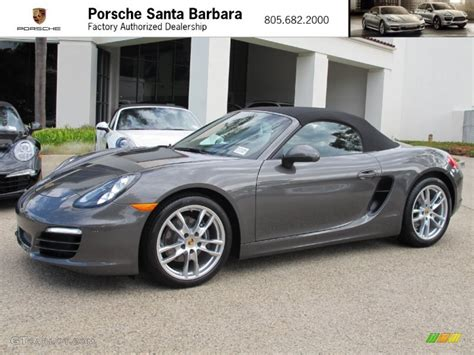 porsche gray 2013 boxster s agate grey autos post
