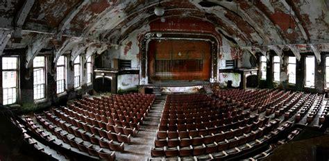 theater panorama photo   abandoned norwich state