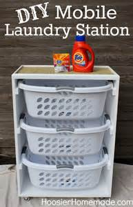 diy station diy mobile laundry station diy craft projects