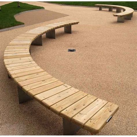 radius wooden tree 25 best ideas about curved bench on curved