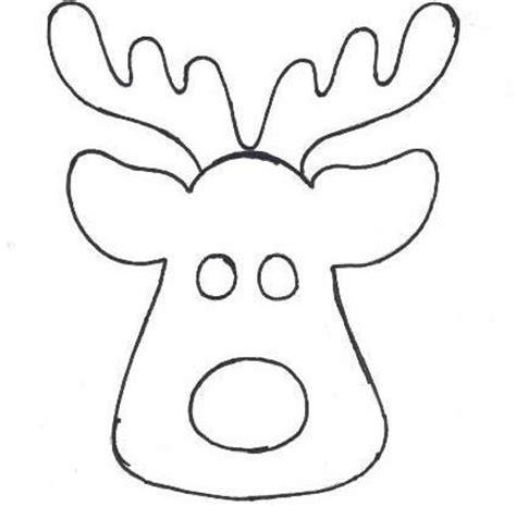 Imagenes De Navidad Para Dibujar En Fomi | moldes caras de renos buscar con google cosas