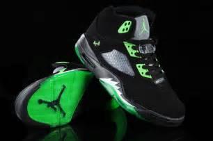 Air jordan 5 black green shoes aj nhe5012 us8 8 5 9 9 5 10 11