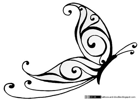 simple butterfly tattoo design tattoos and doodles simple butterfly