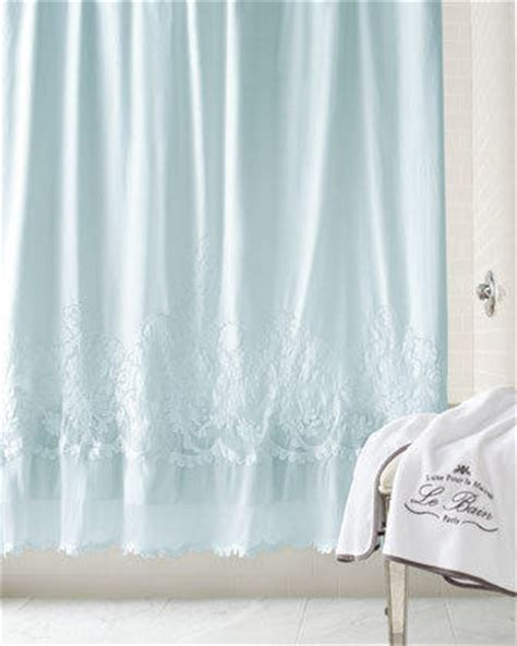 horchow shower curtains pom pom at home caprice shower curtain from horchow bathroom