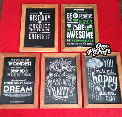 Frame Motivasi Untuk Dinding Rumah A 111 jual poster quote motivasi dalam frame kayu one craft jakarta