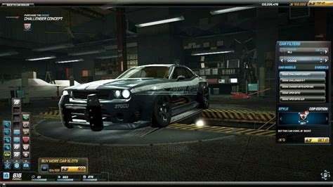 challenger world need for speed world dodge challenger concept cop edition