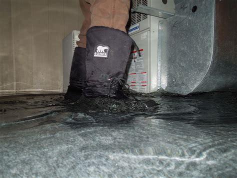 Water Seeping Through Concrete Garage Floor Into How Do I