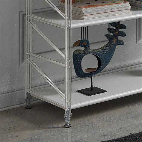 scaffali bianchi scaffale componibile socrate 151 da parete in acciaio