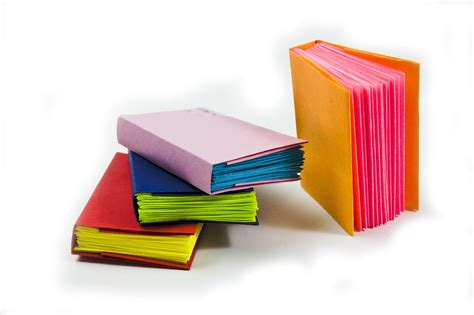 Paper Books - how to make a mini modular origami book diy paper book