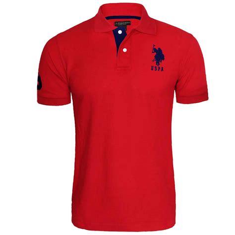 Kemeja Pria Branded Polo Club Original Slim Fit Mre010 mens us polo assn original shirt branded logo t shirt top