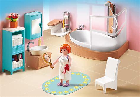 Playmobil Salle De Bain by Playmobil 5330 Salle De Bain Avec Baignoire Et Pare