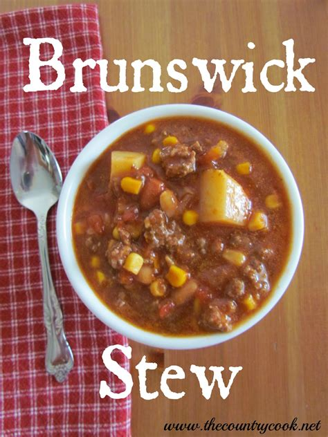 brunswick stew the country cook