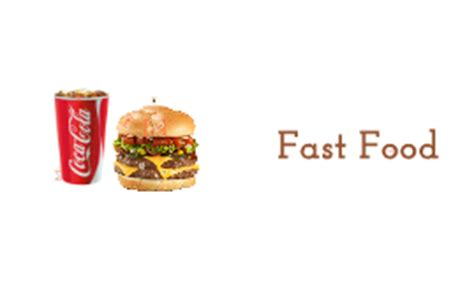 Reasons To Avoid Fast Food by Fast Food Reasons Why We Should Not Eat Them By Nazrin