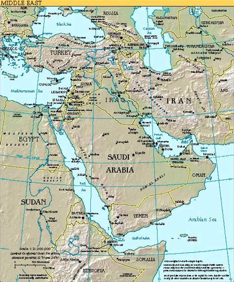 middle east map cia www democraticfundamentalism org archives maps cia