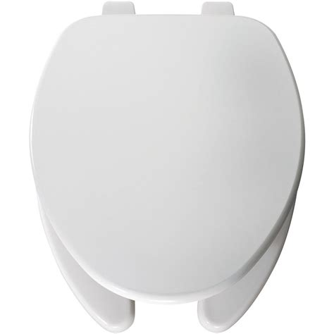 church toilet seats home depot church elongated open front toilet seat in white 595ttt