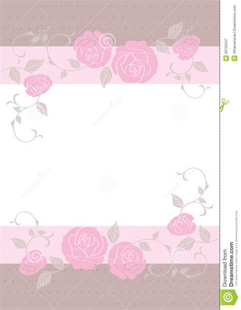 wedding card templates free wedding card card template stock vector illustration of