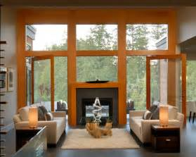 Mid sized trendy open concept living room photo in other with a two