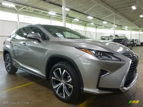 lexus atomic silver paint code 2017 atomic silver lexus rx 450h awd 120488179 photo 4