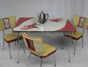 retro kitchen table and chairs mid century modern vintage retro kitchen set table and