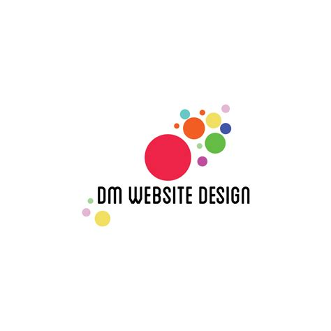 design free website logo dm website design logo png ym designs
