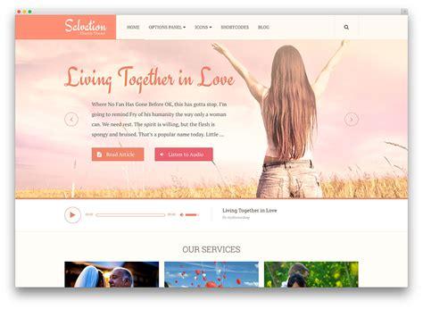 wordpress blog layout ideas 30 beautiful clean church wordpress themes 2018 colorlib