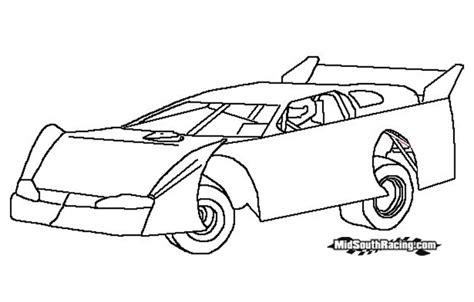 coloring book pages sonny sayre sprint car kidz korner