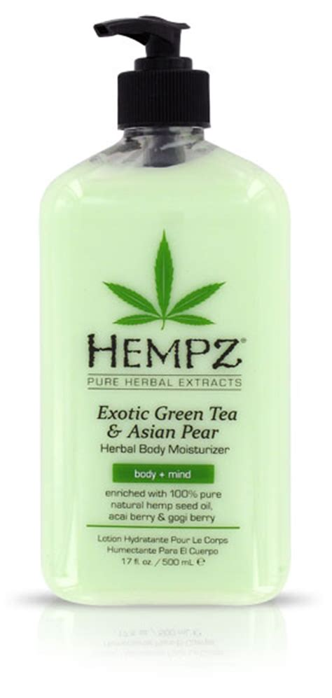 hempz exotic green trea amp asian pear moisturizer