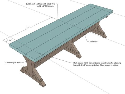 how to start benching simply breathtaking 20 diy farmhouse bench tutorial that
