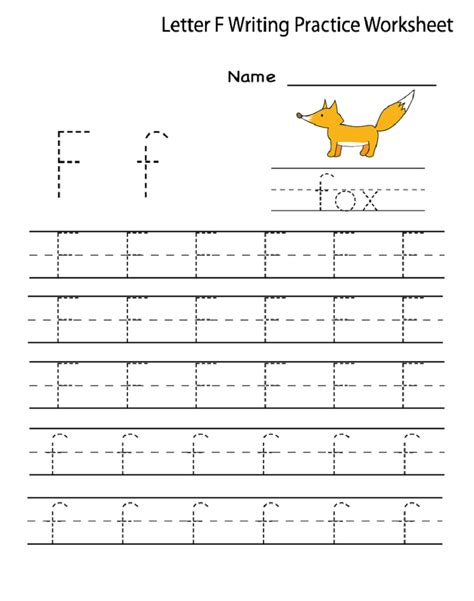 8 best images of writing printable kindergarten worksheets pre k worksheets letter f 1000 images about f is