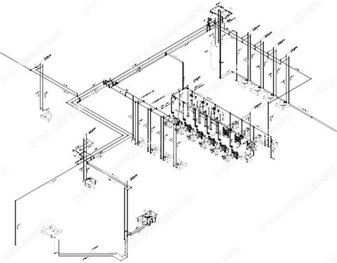 isometric drawing services pipe mechanical plumbing