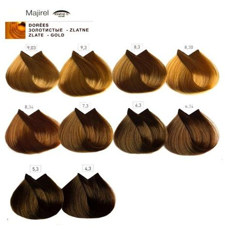 majirel hair color chart by loreal l or 233 al majirel colour shade chart salons direct majirel l oreal professionnel6 dorati hair color charts hair coloring hair