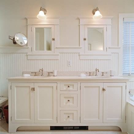 beadboard bathroom white bathroom vanity cottage