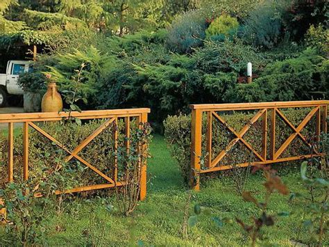 Decorative Garden Fencing Ideas Superb Wooden Garden Fence 3 Decorative Garden Fence
