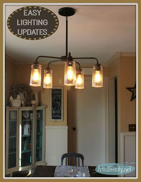 hometalk vintage style kitchen lighting update buh bye